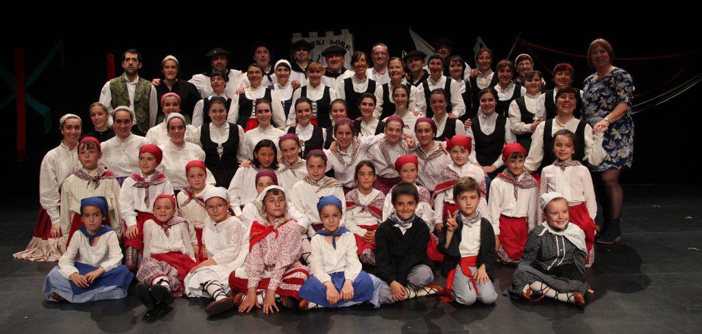 eguzkilore dantza taldea